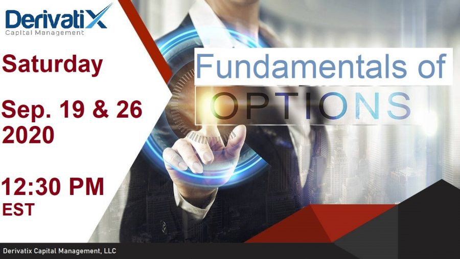 Fundamentals of Options Course Sep. 2020